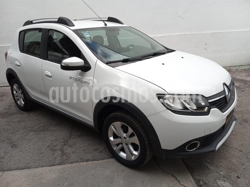 Renault Stepway Intens usado (2018) color Blanco precio $175,000