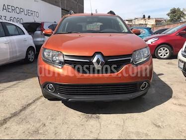 Renault Stepway Dynamique usado (2016) color Naranja precio $155,000