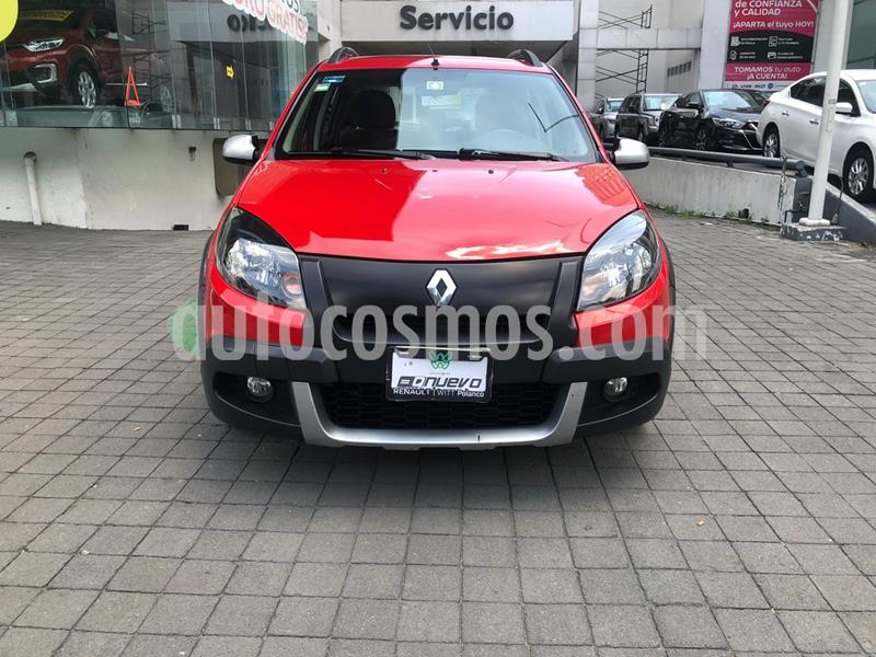 Renault Stepway Dynamique usado (2015) color Rojo Fuego precio $135,000