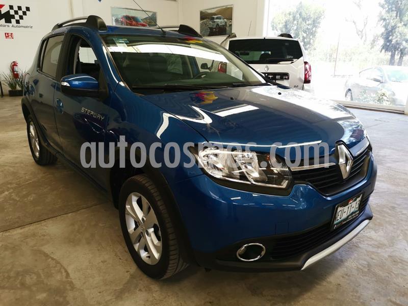 Renault Stepway Intens usado (2018) color Azul precio $185,000