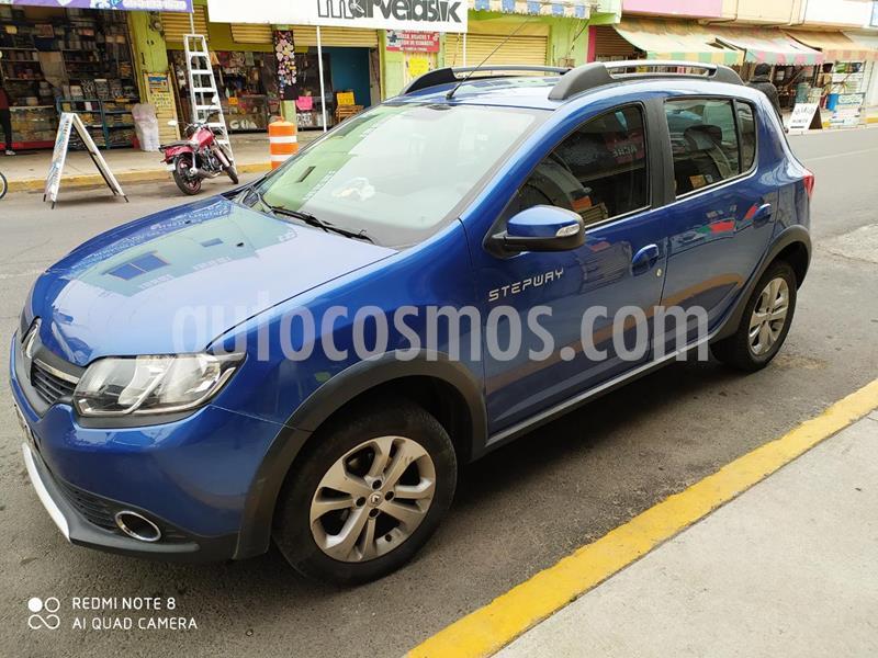 Renault Stepway Expression usado (2017) color Azul precio $118,000