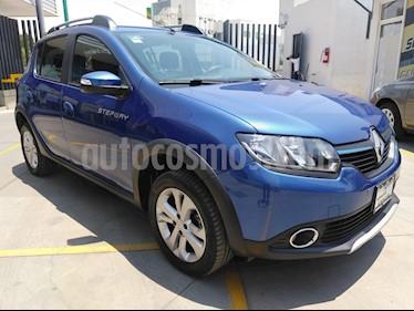 Renault Stepway Zen usado (2018) color Azul precio $185,000