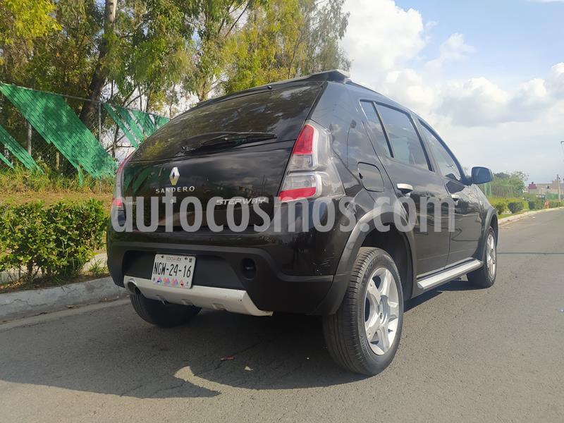 Renault Stepway Dynamique usado (2013) color Negro Nacarado precio $87,000