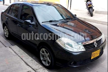 Renault Symbol Avancee 1.6L Luxe usado (2011) color Negro precio $18.700.000
