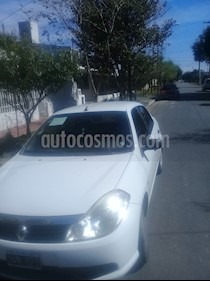 Renault Symbol 1.6 Authentique Pack usado (2011) color Blanco Glaciar precio $195.000