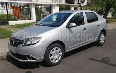 Renault Symbol 1.6 Expression usado (2016) color Plata precio $5.650.000
