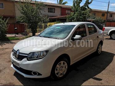 Renault Symbol 1.6 Expression usado (2017) color Blanco precio $5.800.000