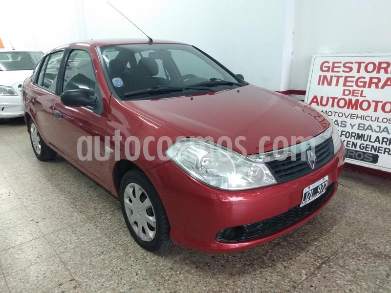 Renault Symbol 1.6 Pack usado (2011) color Rojo precio $500.000