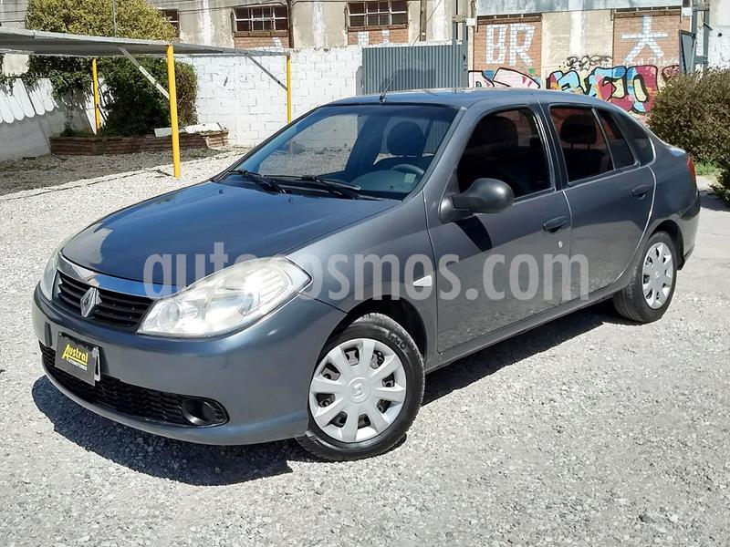 Renault Symbol 1.6 Authentique Pack II usado (2013) color Gris Cuarzo precio $340.000