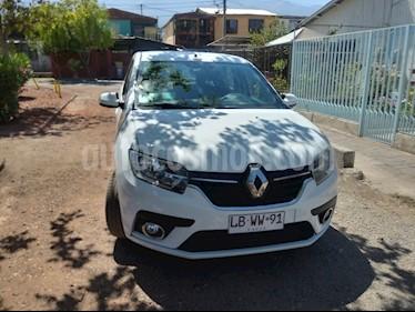 Renault Symbol 1.6L Intens Tech usado (2019) color Blanco precio $6.500.000