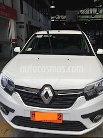 Renault Symbol 1.6L Intens usado (2018) color Blanco Glaciar precio $10.000.000