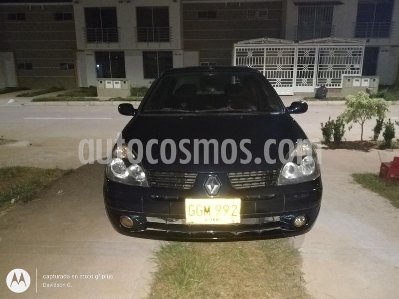 Renault Symbol 1.4 Expression usado (2005) color Negro precio $11.000.000