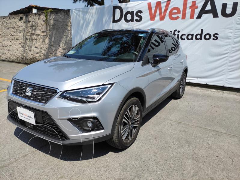 Foto SEAT Arona XCELLENCE PLUS 1.6MPI 110HP AT usado (2019) color Plata precio $350,000