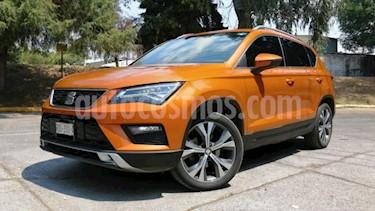 SEAT Ateca 5P XCELLENCE 1.4T 150 HP DSG QC F. LED RA-18 usado (2019) color Naranja precio $379,000