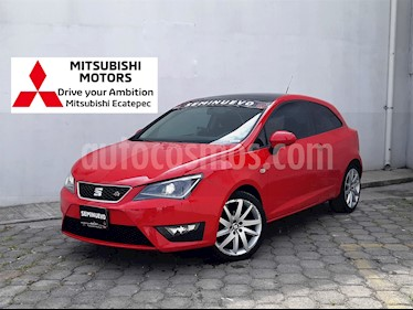 Foto venta Auto usado SEAT Ibiza Coupe FR 1.2L Turbo (2015) color Rojo Montsant precio $189,900
