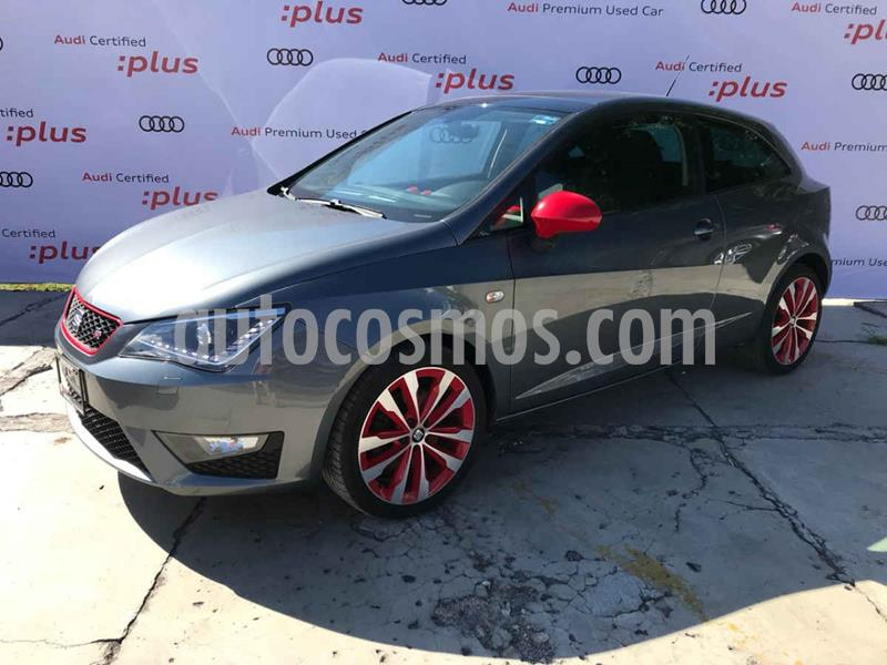 SEAT Ibiza Coupe FR 1.2L Turbo Red Pack usado (2017) color Gris precio $205,000