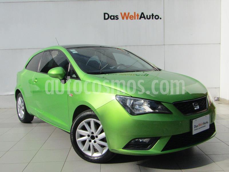 SEAT Ibiza Coupe Turbo Style 1.2L  usado (2014) color Verde Lima precio $149,000