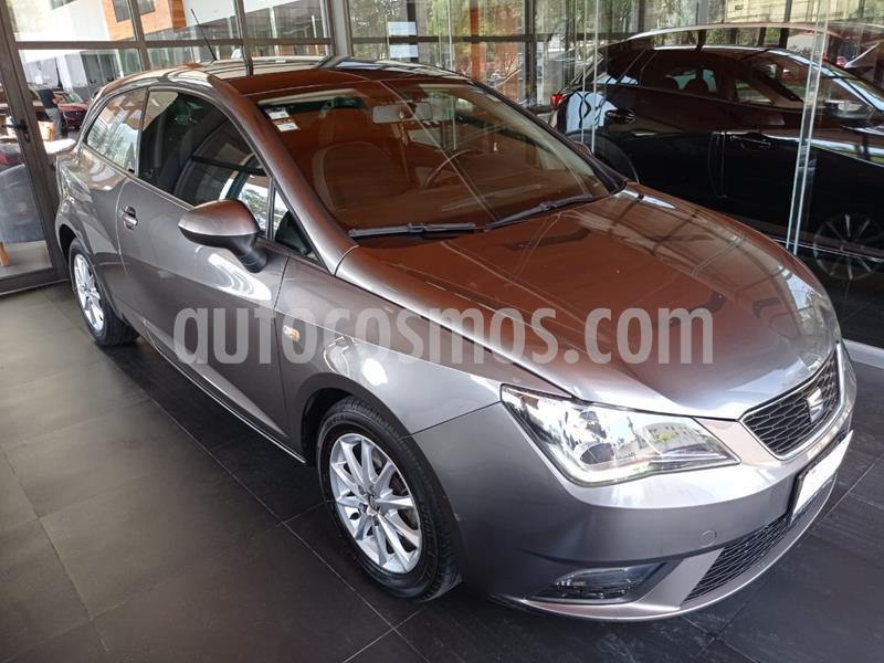 SEAT Ibiza Coupe Style 1.6L usado (2017) color Gris Pirineos precio $170,000