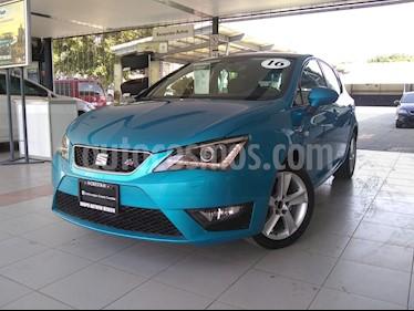 Foto SEAT Ibiza FR 1.0L TSI usado (2016) color Azul precio $230,000