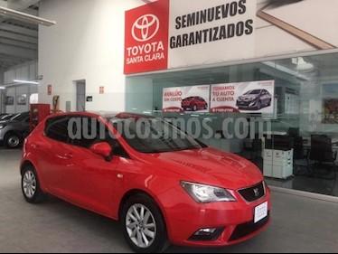 SEAT Ibiza 5P STYLE 2.0L 115 HP TM5 A/AC. CD QC RA-15 usado (2015) color Rojo precio $155,000