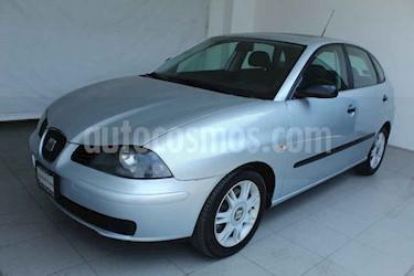 SEAT Ibiza 5p Reference 5vel 1.6L a/a CD usado (2005) color Plata precio $79,000