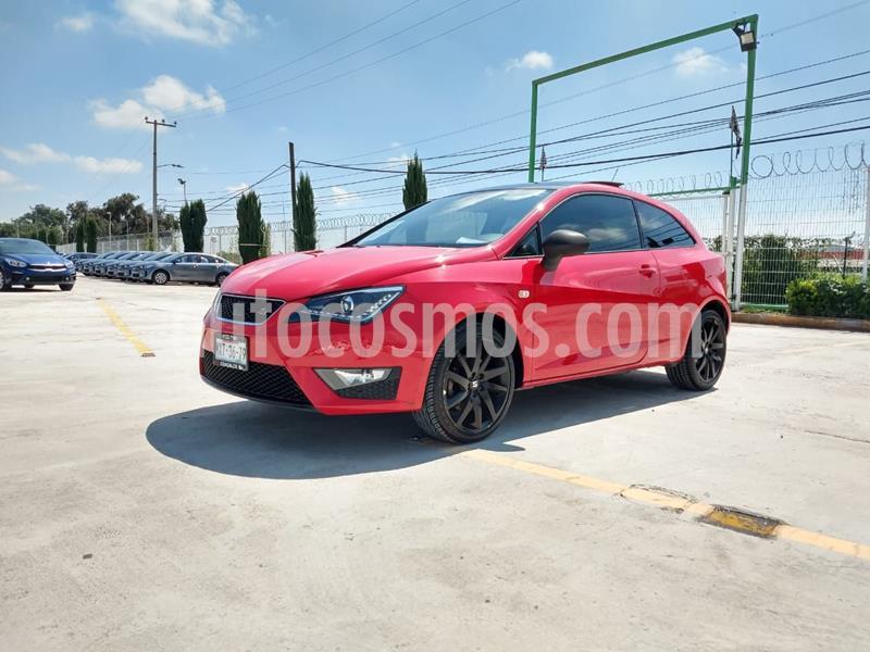 SEAT Ibiza FR 5P  usado (2016) color Rojo precio $188,000