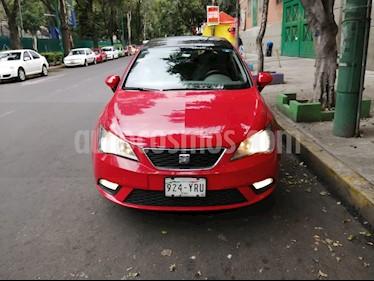 SEAT Ibiza Style DSG 1.6L 5P  usado (2013) color Rojo Emocion precio $122,000