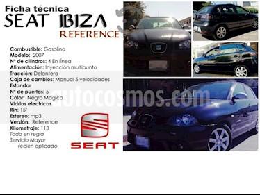 SEAT Ibiza Reference 1.6L 5P  usado (2007) color Negro precio $65,000