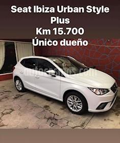SEAT Ibiza Style Urban Techo P. 1.6L Paq. de Seguridad usado (2018) color Blanco precio $230,000
