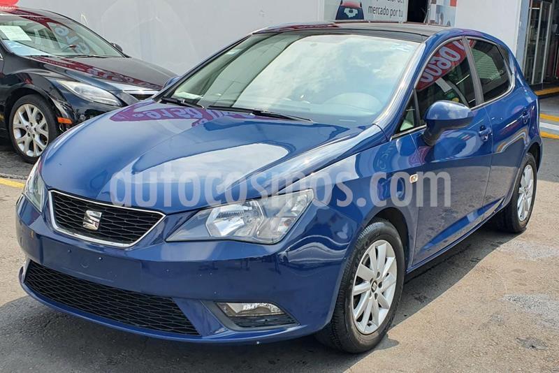 SEAT Ibiza Reference 1.6L 5P usado (2017) color Azul Apolo precio $165,000