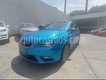 SEAT Ibiza 5p Connect L4/1.6 Man usado (2017) color Azul precio $199,000