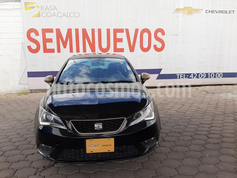 SEAT Ibiza Style 1.6L 5P usado (2016) color Negro precio $175,000