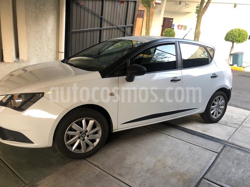 foto SEAT Ibiza Reference 1.6L Tiptronic 5P usado (2017) color Blanco precio $150,000