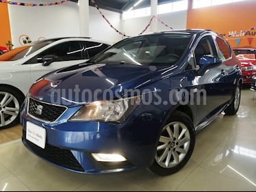 SEAT Ibiza Style 1.6L DSG 5P  usado (2014) color Azul Apolo precio $160,000