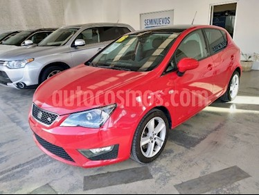 SEAT Ibiza FR 5P  usado (2016) color Rojo precio $180,000