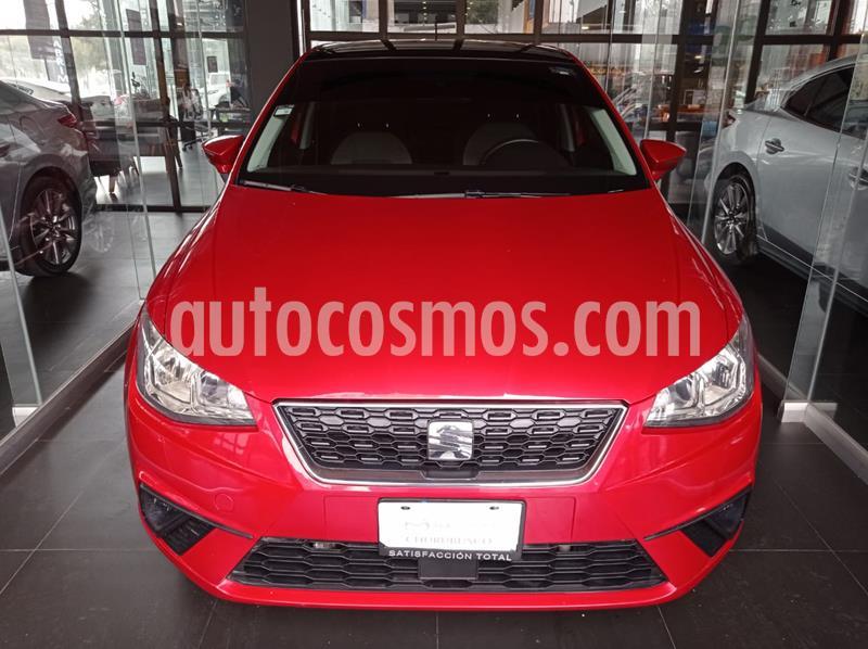 SEAT Ibiza Style 1.6L 5P usado (2019) color Rojo Chili precio $227,000