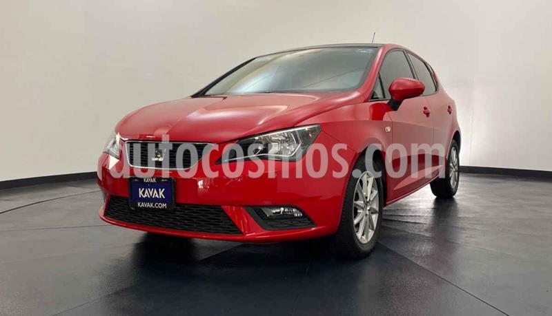 SEAT Ibiza Style 1.6L Tiptronic 5P usado (2016) color Rojo precio $194,999