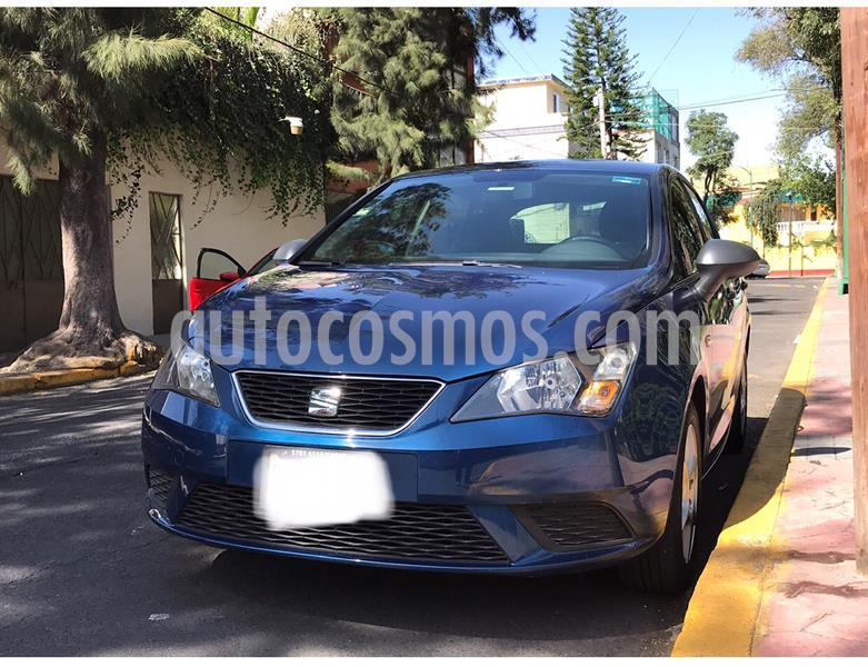 SEAT Ibiza Reference 1.6L 5P usado (2016) color Azul Apolo precio $137,500