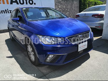 SEAT Ibiza Style 1.6L usado (2018) color Azul precio $210,000