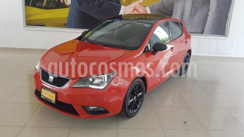 SEAT Ibiza Style 1.6L 5P usado (2016) color Rojo precio $182,000