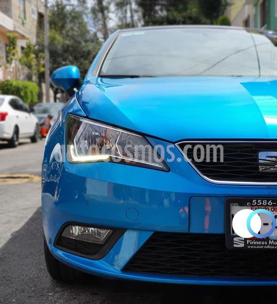 SEAT Ibiza Style 1.6L 5P usado (2017) color Azul Alor precio $180,000