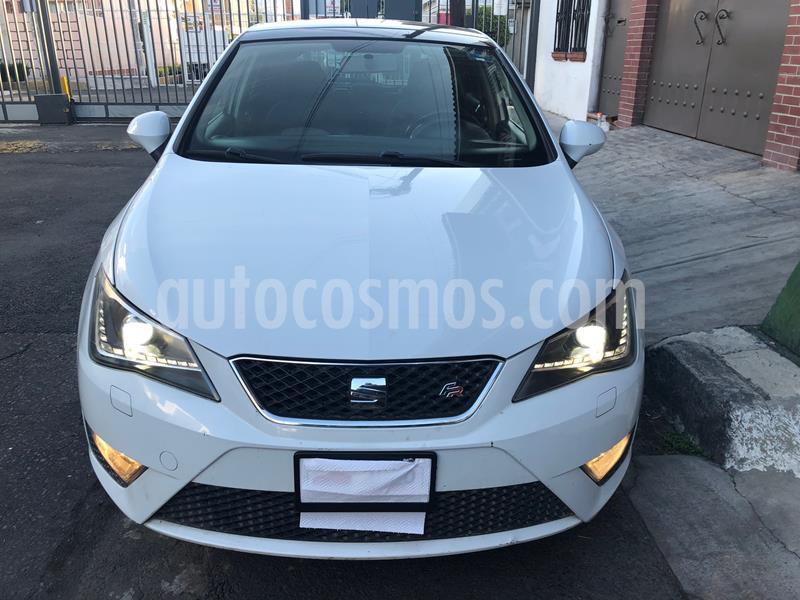 SEAT Ibiza FR 1.2L Turbo 5P usado (2015) color Blanco precio $131,500