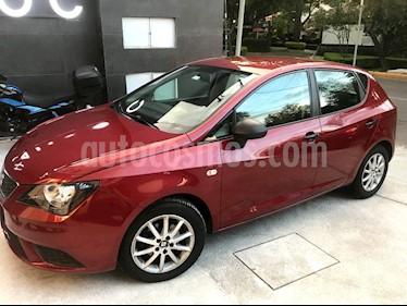 SEAT Ibiza Reference 1.6L Tiptronic 5P usado (2014) color Rojo precio $129,000