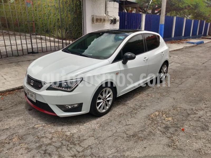 SEAT Ibiza FR 1.2L Turbo 5P  usado (2014) color Blanco Nieve precio $150,000