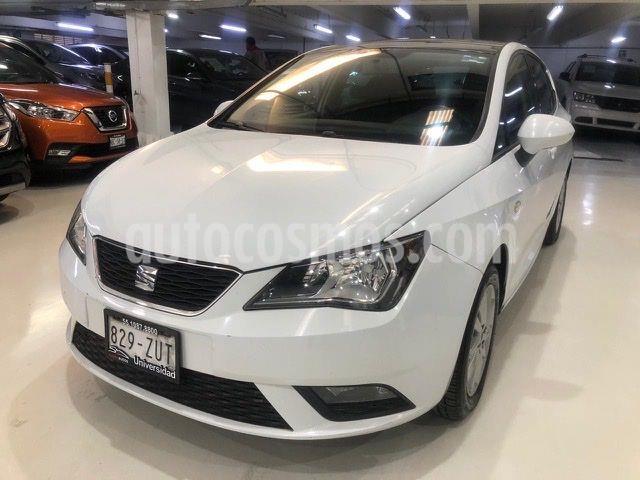 SEAT Ibiza 1.6L DSG 5P  usado (2014) color Blanco precio $164,100