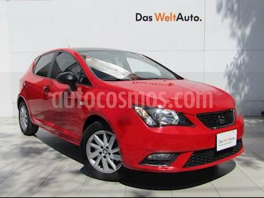 SEAT Ibiza Blitz 1.6L 5P usado (2017) color Rojo Emocion precio $175,000
