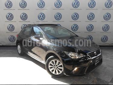 SEAT Ibiza Style Urban 1.6L usado (2018) color Negro Medianoche precio $229,000