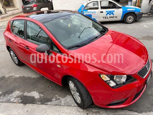 SEAT Ibiza Reference 1.6L 5P usado (2017) color Rojo Emocion precio $169,000