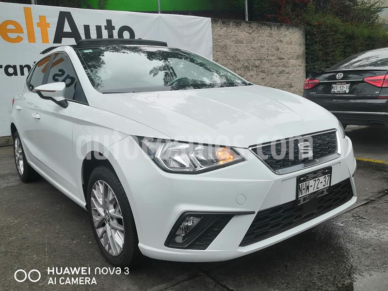 SEAT Ibiza Style 1.6L usado (2018) color Blanco precio $230,000
