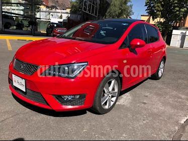 SEAT Ibiza 5p FR L4/1.2/T Man usado (2015) color Rojo precio $198,000